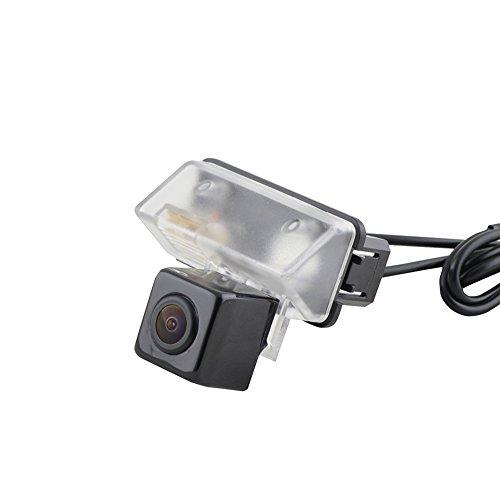 Sincero facile installazione fai da te Eseguire il backup di visione notturna licenza della telecamera luce targa Monte Alto grado impermeabile Toyota Corolla Verso Camry YARIS LAND CRUISER Modello: HS8137B - Toyota Corolla Luce Di Parcheggio