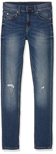 cheap-monday-tight-serene-blue-vaquero-skinny-para-hombre-azul-blue-31w-32l