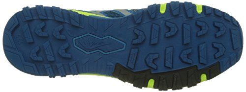 Asics Fujiattack 5, Chaussures de Running Homme Multicolore (Thunder Blue / Silver / Safety Yellow)