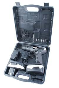 Mannesmann 17910 Perceuse-visseuse sans fil Avec 2 batteries 18 V (Import Allemagne)
