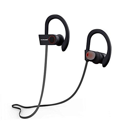 Cuffie Bluetooth Sport n. Oranie Wireless Bluetooth 4.1Sport Auricolari Stereo