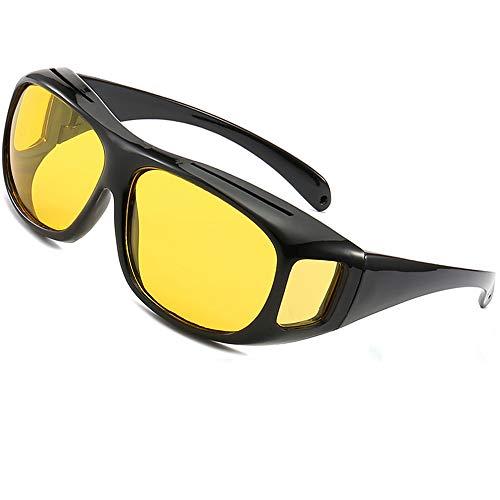 SHEEN KELLY Unisex Wear Over Brillen Rx Gläser Nachtsicht polarisierte Sonnenbrille schutzbrille über brille sonnenbrille passte in gläsern Gelbe linsen