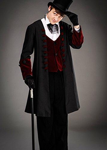 n Gothic viktorianischen Gentleman Kostüm Large (42-44