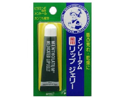Rohto MENTHOLATUM LipCare Medicated Lip Jelly 8g [Health and Beauty]