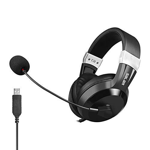 TL Kopfhörer, Headset Desktop-Computer Englisch Hören und Sprechen Test Center Test-Start Headset Gaming Headset