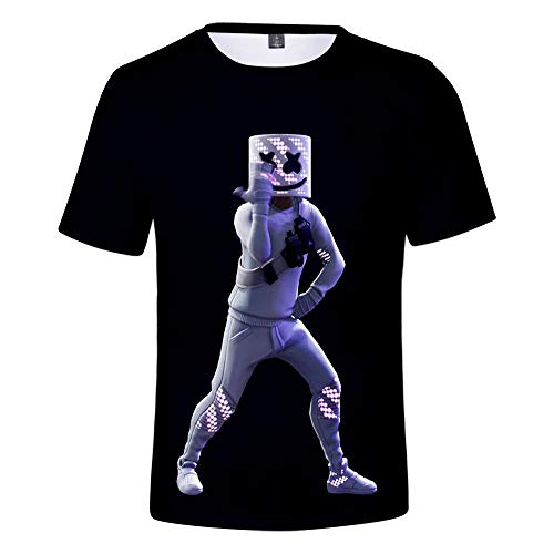 GongDi Unisex 3D-gedrucktes Sommer-beiläufige Kurze Hülsen-T-Shirts Beach Holiday Wear Sommermens Hawaii-Kleidung T-Shirts S-4XL