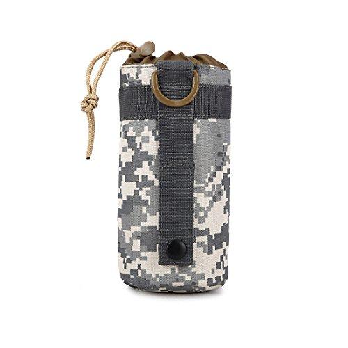 ruifu Unisex kleine Nylon Reisen Camping Wasser Flasche Tasche Outdoor Sports Tactical Tasche Zubehör-Sets ACU