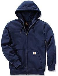 Carhartt Zip Hooded Sweatshirt K122 - navy Größe XL