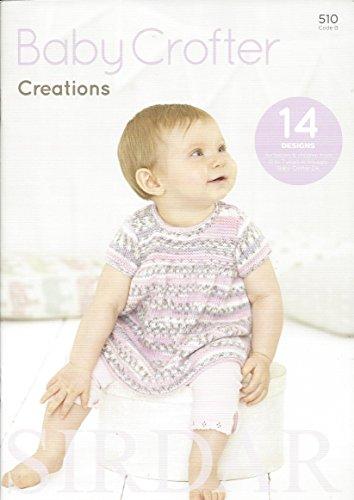 Fair-isle-pullover Mit V-ausschnitt ('Sirdar Strickmuster-Buch 510–Baby Crofter Creations–Sirdar Snuggly Baby Crofter DK)