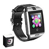 Smart Watches Bluetooth Smartwatch mit Kamera SIM TF Kartenschlitz Touchscreen Armbanduhr für Android Samsung für Männer und Frauen