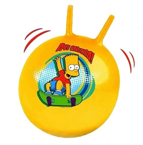 50cm Bart The Simpsons Space Hopper Jumping Bouncing Garden Game Toy - Made of a thick rubber material to withstand the constant use they are certain to have to