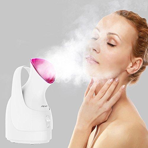 in 1 Facial Steamer Professionelle Nano Ionic Gesicht Dampfgerät Heiß Mist Luftbefeuchter Dampfer Persönliche Face Befeuchter Hautpflege Porenreinigung ()