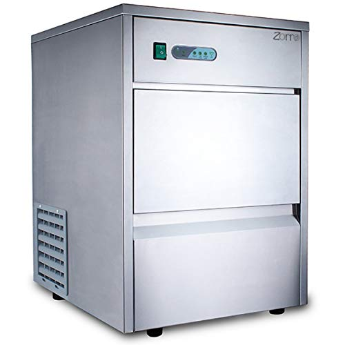 ZORRO - Eiswürfelbereiter ZEB 25 ECO - Gastro - 25kg/24h- Eiswürfelmaschine mit Edelstahlgehäuse