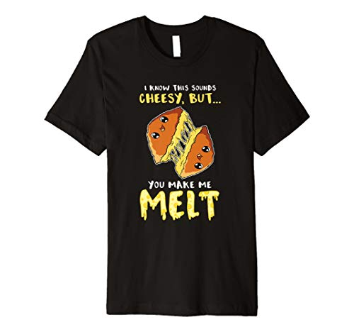 Gegrillter Kse-Sandwich-Kse-Kse-Valentinstag Shirt Pun