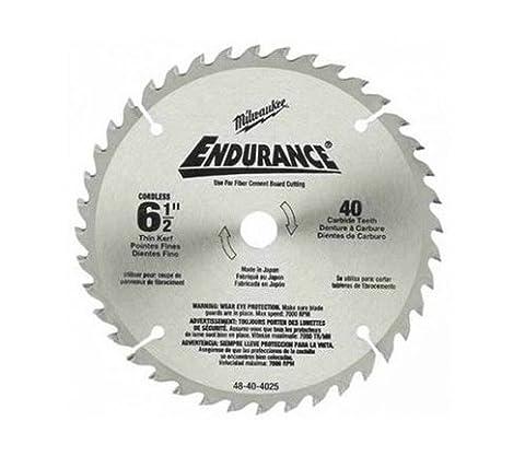Circular Saw Blade Wood Woodworking Cutting Endurance by Milwaukee 165mm x 15.8mm 24 Teeth