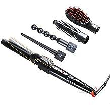 5-En-1 Tubo Reemplazable Rizador De Múltiples Funciones De Hierro Rizador Artefacto De