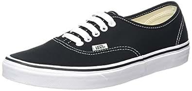 Vans Authentic, Sneaker Unisex – Adulto, Nero (Black/White), 34.5 EU