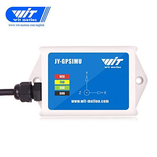 WitMotion WTAHRS2 10-Achsen-IMU Sensor, hochpräziser Beschleunigungsmesser, Gyro, Winkel, Magnet, Luftdruck, GPS, Erdgeschwindigkeitsmessung, TTL Level, mit BeiDou GPS Navigationsposition Tracker