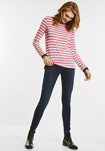 Street One Damen Langarmshirt colada pink (pink)