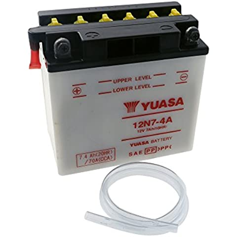 YUASA 7-4A 12N-Batería HARLEY-DAVIDSON FX Series (Kick-Starter) 1200 ccm
