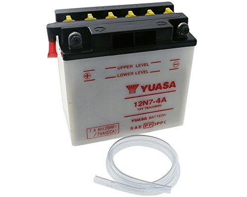 Batterie YUASA - 12N7-4A für ARTIC CAT EXT (EFI) Baujahr 95-97 [inkl. 7,50 EUR Batteriepfand] -