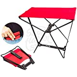 ITW Portable Pocket Chair - Red and Black