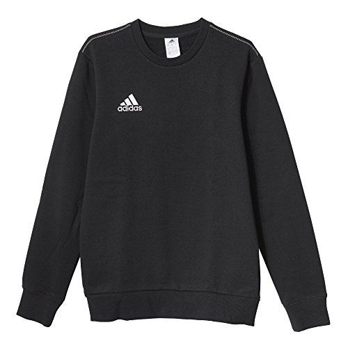 Adidas Core SWT felpa da uomo, Uomo, Sweatshirt Coref swt top, nero / bianco, XS