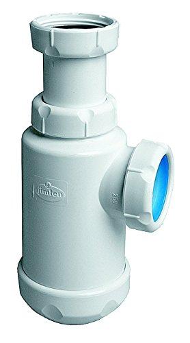 Jimten 702128 Sifón para lavabo o fregadero S-65 1 1/2