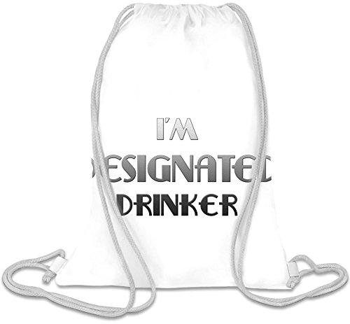 I'm A Drinker Kordelzug Beutel (Designated Drinker)
