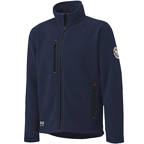 Helly Hansen Workwear - Herren Fleecejacke Langley, 4X Big, Navy, 1