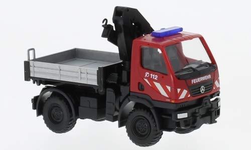 Mercedes Unimog U20, Feuerwehr, 0, Modellauto, Fertigmodell, Wiking 1:87