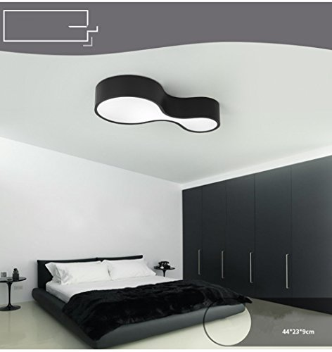YIZHANGModernen Kreatives und einzigartiges Design Kronleuchter Wohnzimmer Hotel Büro Zimmer Kinderzimmer Led Eisen Acryl 44 * 23 * 9cm -