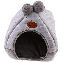 NON Sharplace Almohadilla Cama Gato Cueva Plegable Tienda Mascotas Suave Cálida Casa Perros Pequeños - Estilo