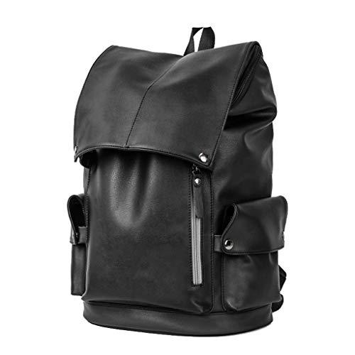 Männer und Frauen geeignet für Persönlichkeit Mode Rucksack Herrenrucksack, lässig junge College-Studenten vielseitige einfache Reisetasche, verschleißfeste, spritzwassergeschützt, Anti-Falten, weiche