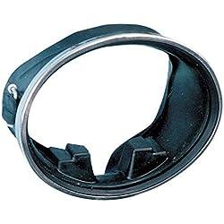 Sommap - Masque Ovale en Caoutchouc avec compensateur Cercle INOX agrafé