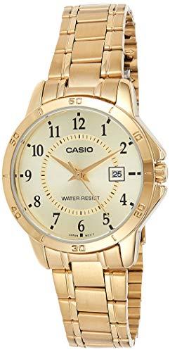 Casio Reloj con Movimiento Cuarzo japonés Woman LTP+V004G.9B 30 mm