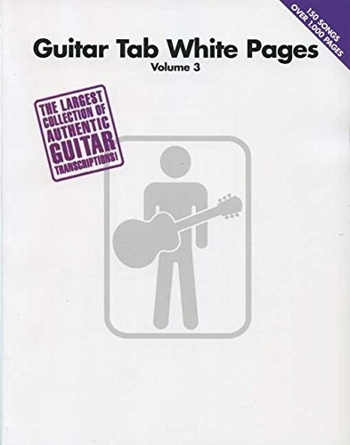 Guitar Tab White Pages: Volume 3