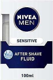 NIVEA MEN Sensitive After Shave Lotion, Chamomile & Hamamelis, 1