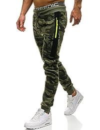 BOLF Pantaloni – Sportivi – Joggers - Motivo Mimetico – Stile Casual – da  Uomo 6F6 36920f3049bf
