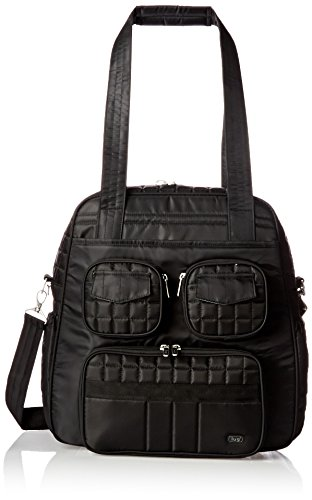 lug-womens-puddle-jumper-overnight-and-gym-top-handle-bag-midnight-black