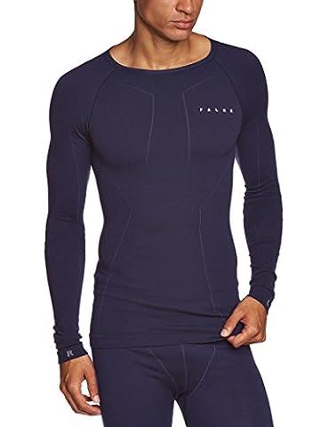 FALKE Wool Tec Long Sleeved Men's Shirt blue Dark Night Size:XXL