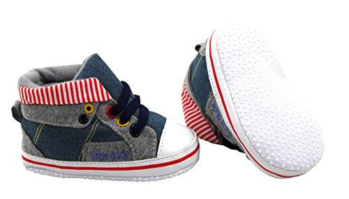 Jeans Schuhe Stoffschuhe Größe 17,18,19 Rot