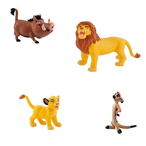 generisch Bullyland König der Löwen / Lion Guard Figuren-Set Kuchen Deko Simba, Timon und Pumbaa