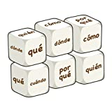 Spanish Question Words (pack of 6 dice)