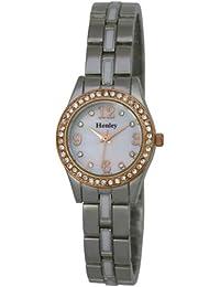 Henley H07221.14 - Reloj de pulsera mujer, color plateado