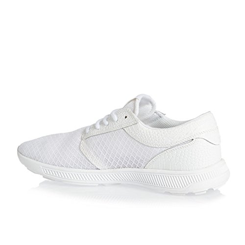 Supra Hammer Run Cuir Baskets White-White