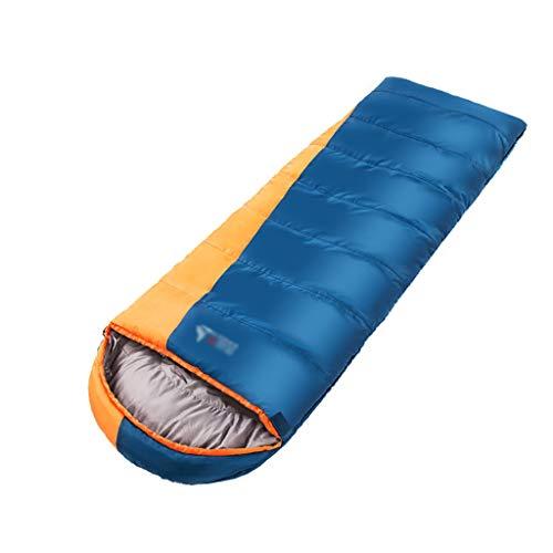 Lw outdoor Sac de Couchage extérieur Sac de Couchage, Sacs de Couchage légers Haut de Gamme pour Adultes, Sacs de Couchage 3 ou 4 Saisons pour la randonnée en Camping à l'extérieur 220 * 80 cm