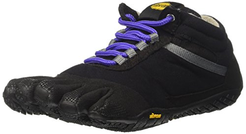 Vibram FiveFingers Damen Trek Ascent Insulated Outdoor Fitnessschuhe, Mehrfarbig (Black/Purple), 40 EU