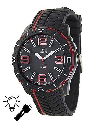 Reloj Marea Hombre B25152/1 Sumergible con linterna