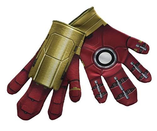 Generique - Hulkbuster-Handschuhe für Herren Infinity War rot-Gold (Hawkeye Avengers Age Of Ultron Kostüm)